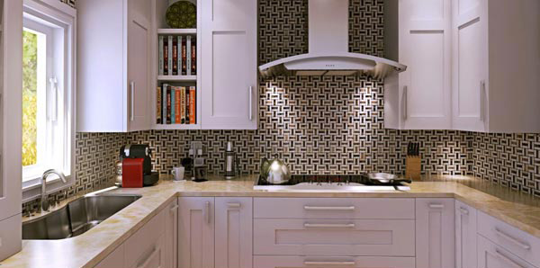 Determine the kitchen space