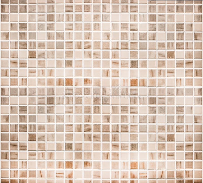 Vintage ceramic tile wall/Home Design bathroom wall background royalty free stock photo