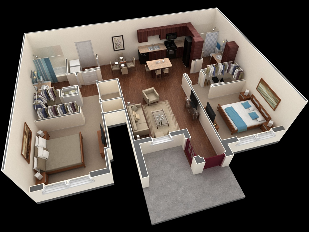 12-Shared-Apartment-Plan
