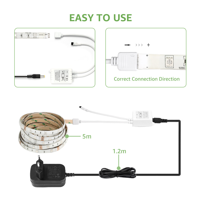 kitchen led strip light kit