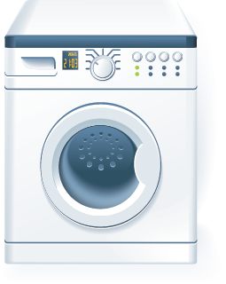 An icon image of a washing machine / clothes washer